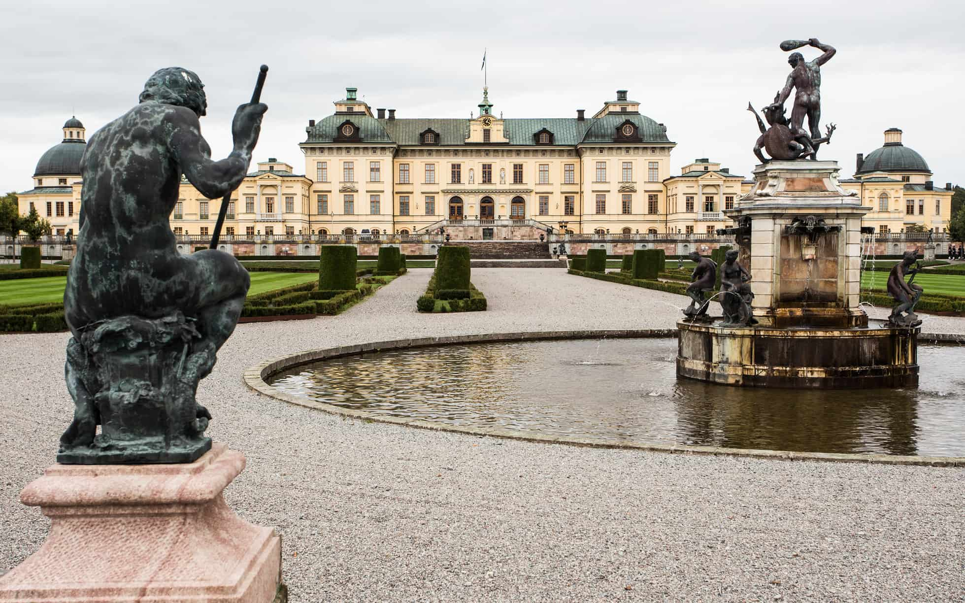 Drottningholm Palace -  sweden itineraries