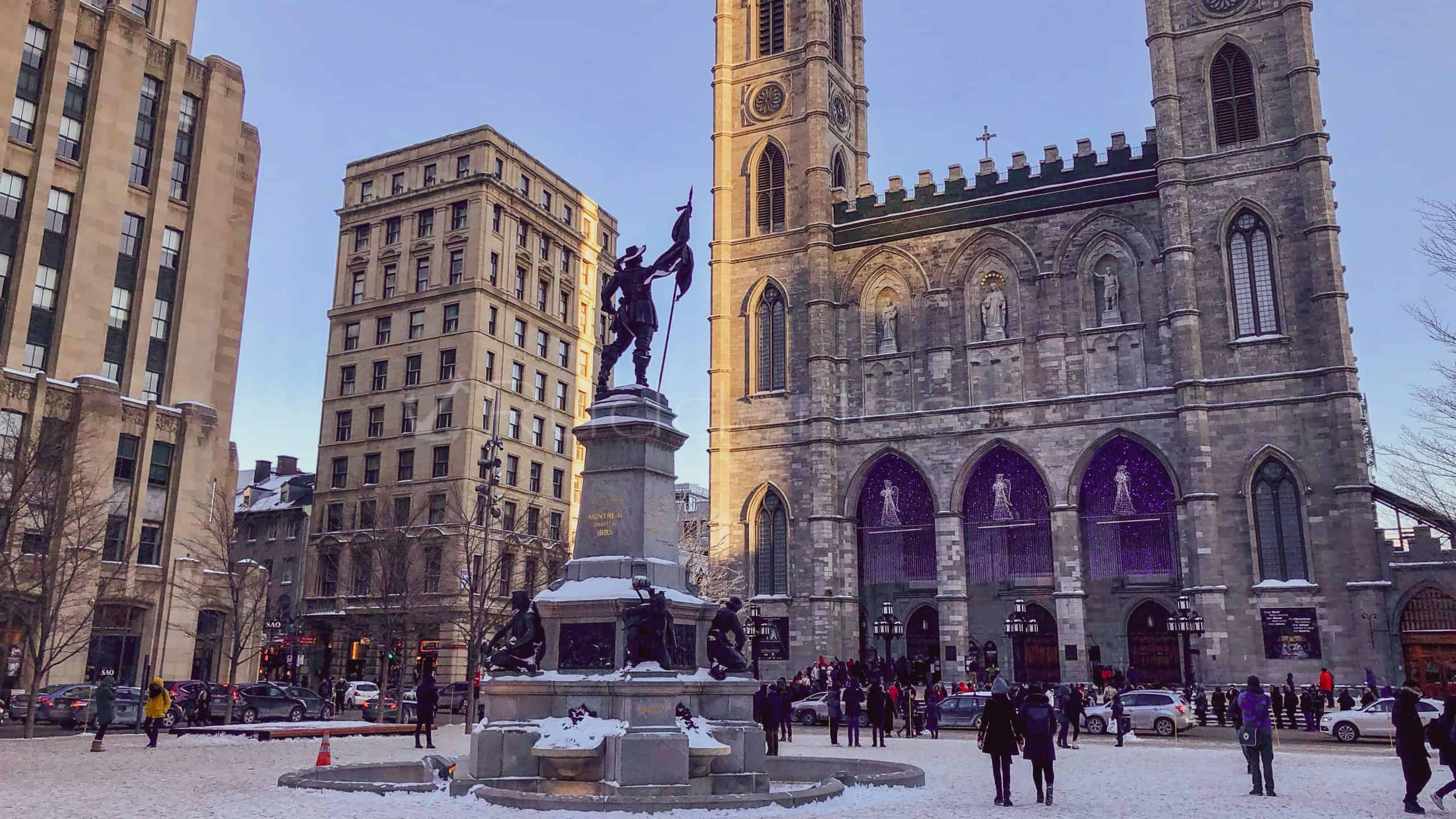 Notre-Dame Basilica of Montreal - two days in montreal