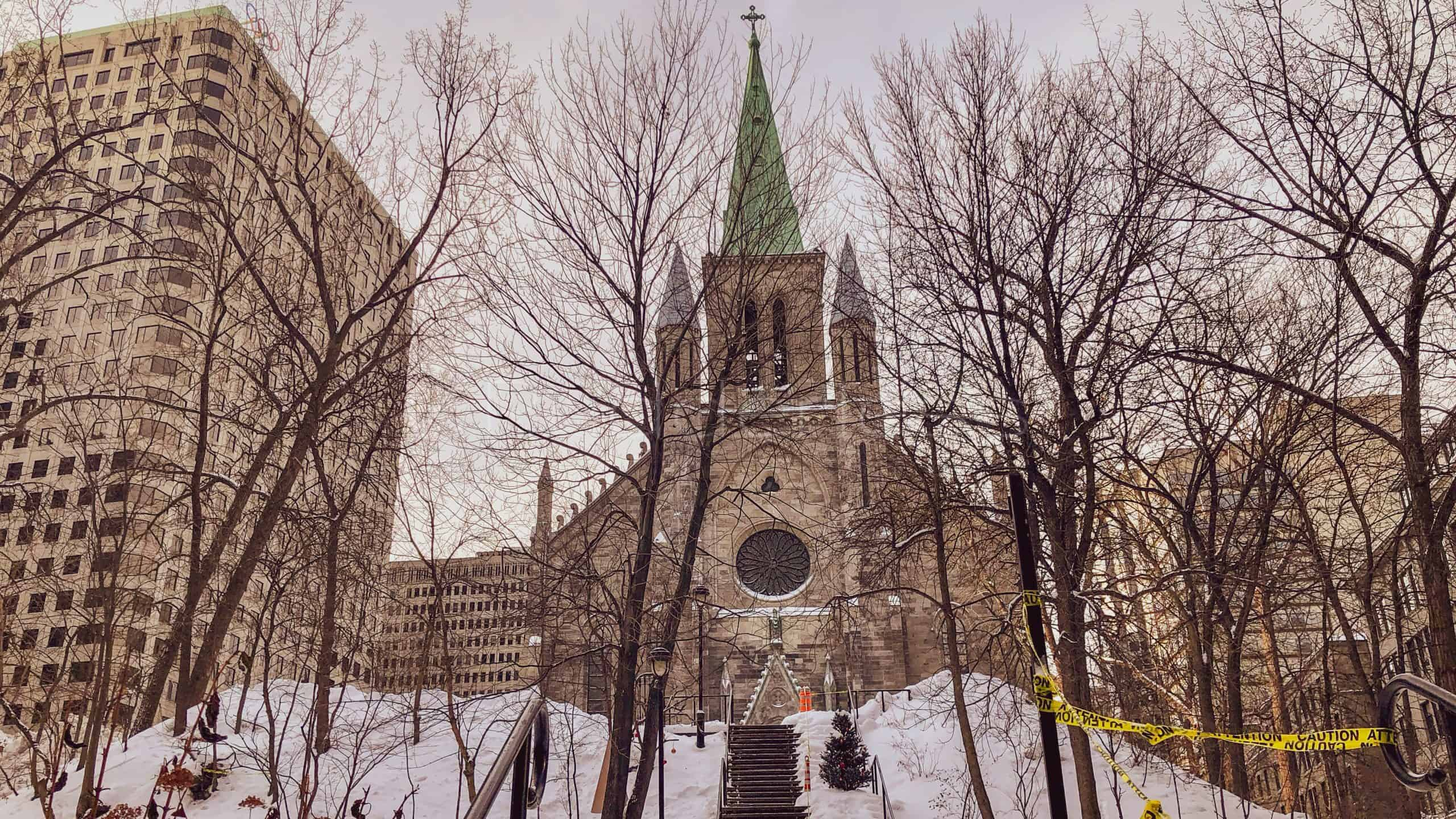 saint patrick's basilica - 2 days in montreal