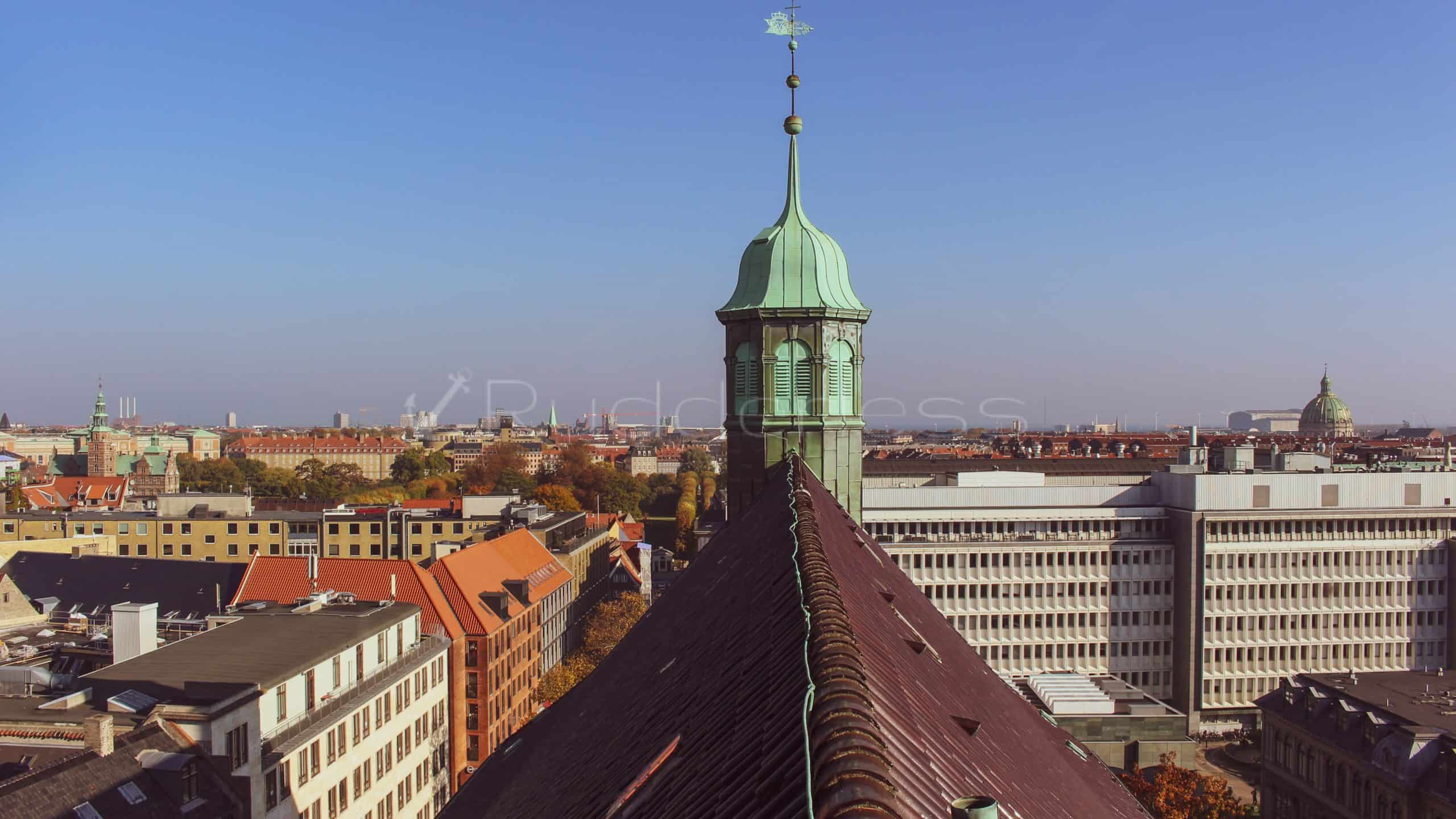 The Rundetaarn - The Round Tower - copenhagen landmarks