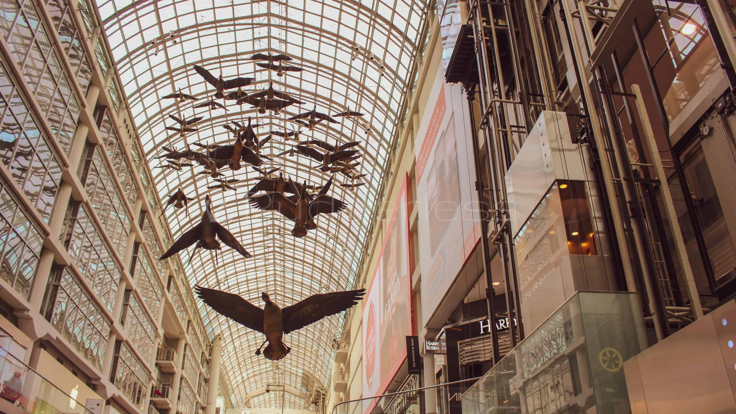 eaton centre - toronto places to visit