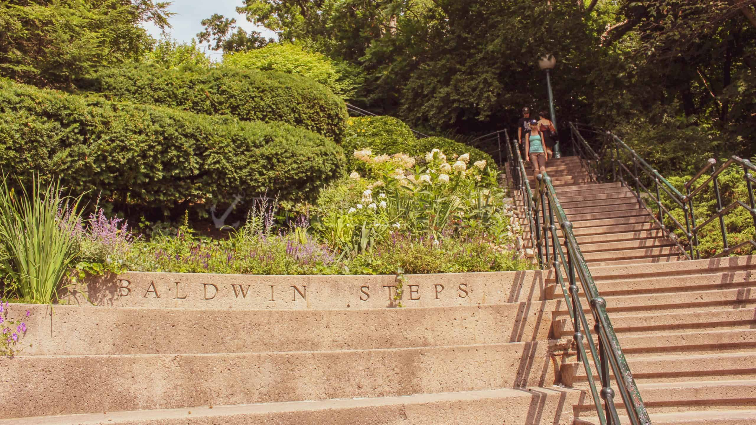toronto places to visit baldwin steps