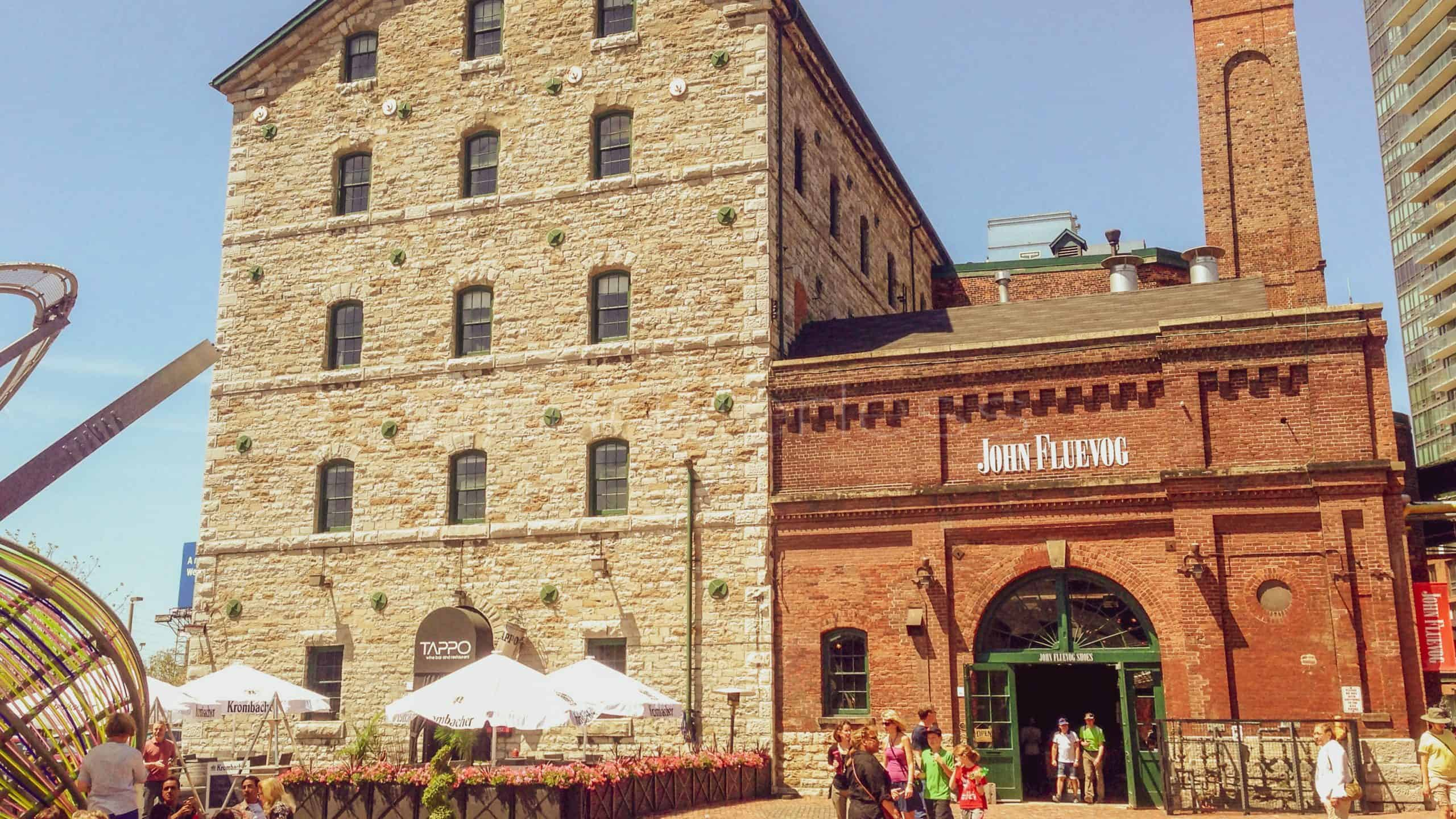 distillery district - things to see in toronto
