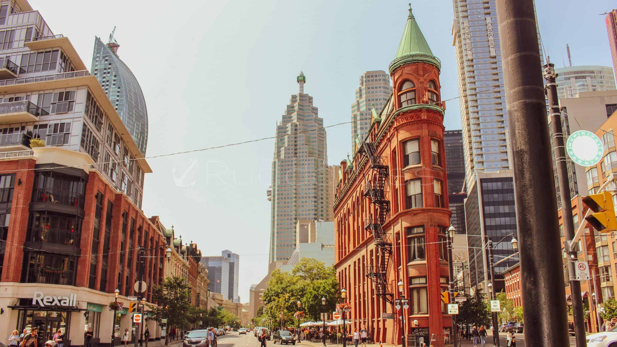 gooderham building - toronto points of interest