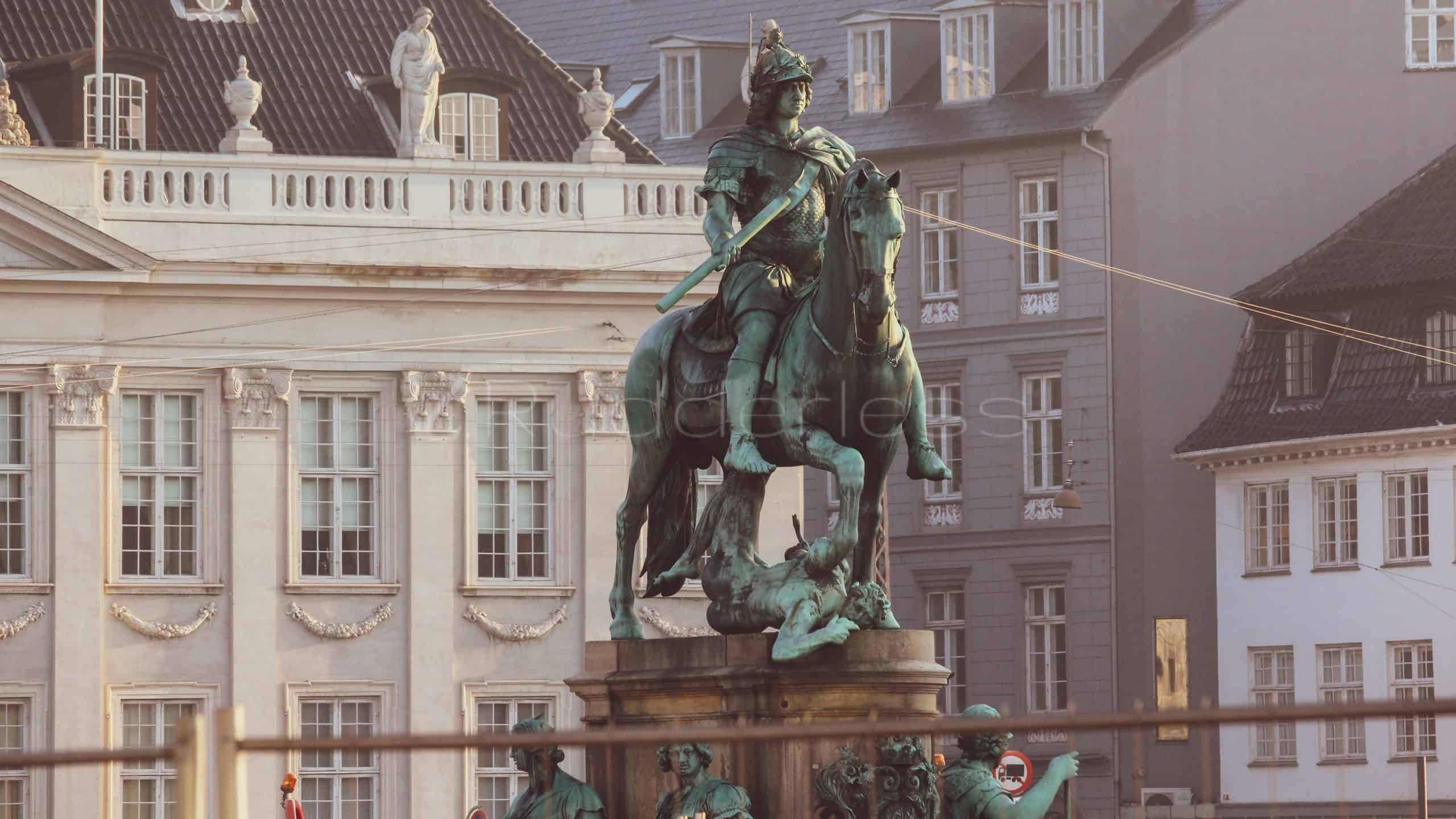 copenhagen points of interest - king's square