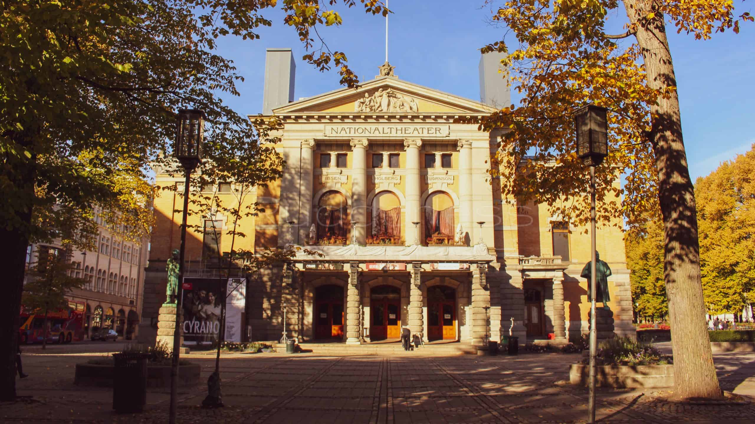 what to do in oslo norway - National Theatre
