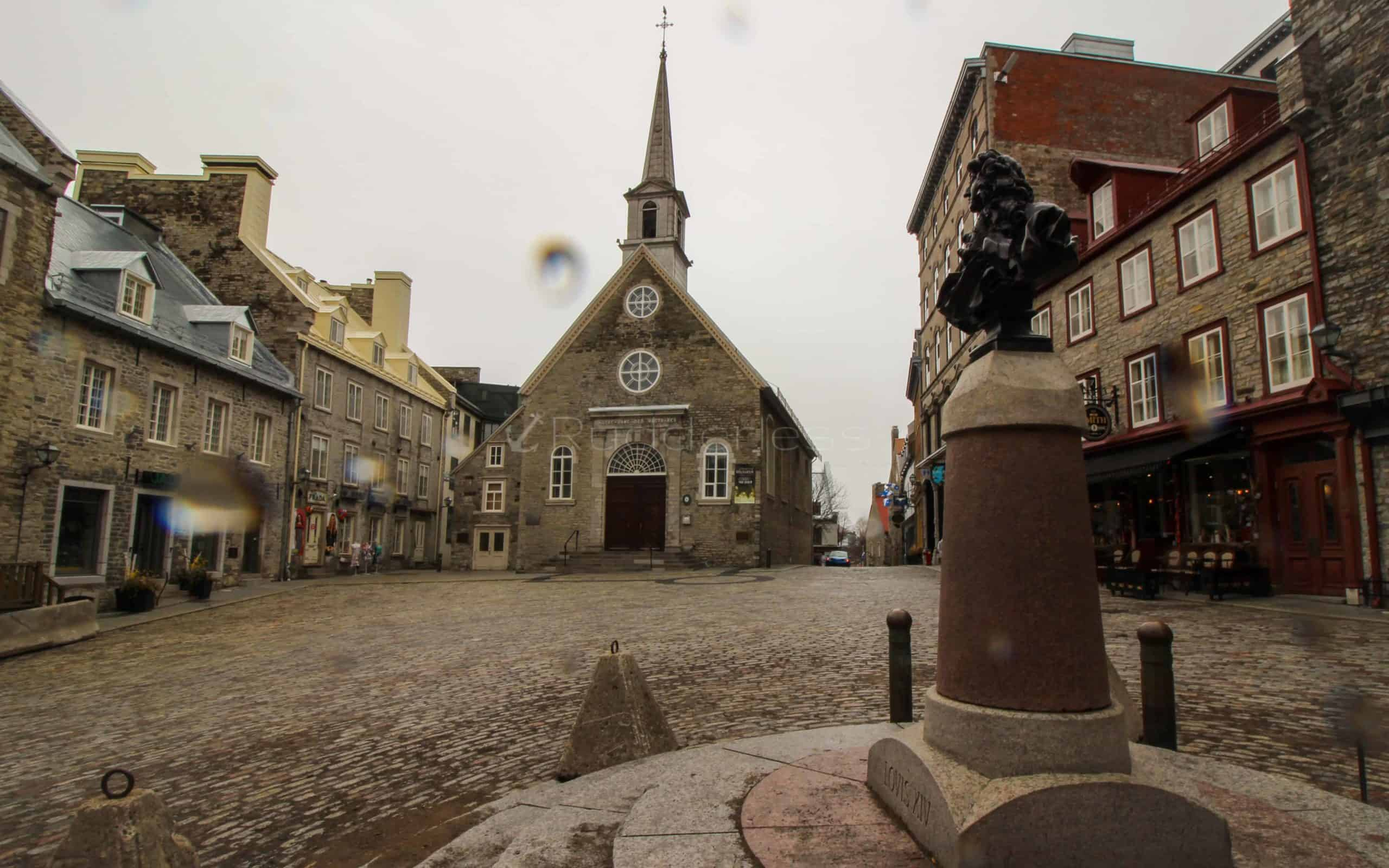 top things to do in Quebec City Notre-Dame-des-Victoires-Church