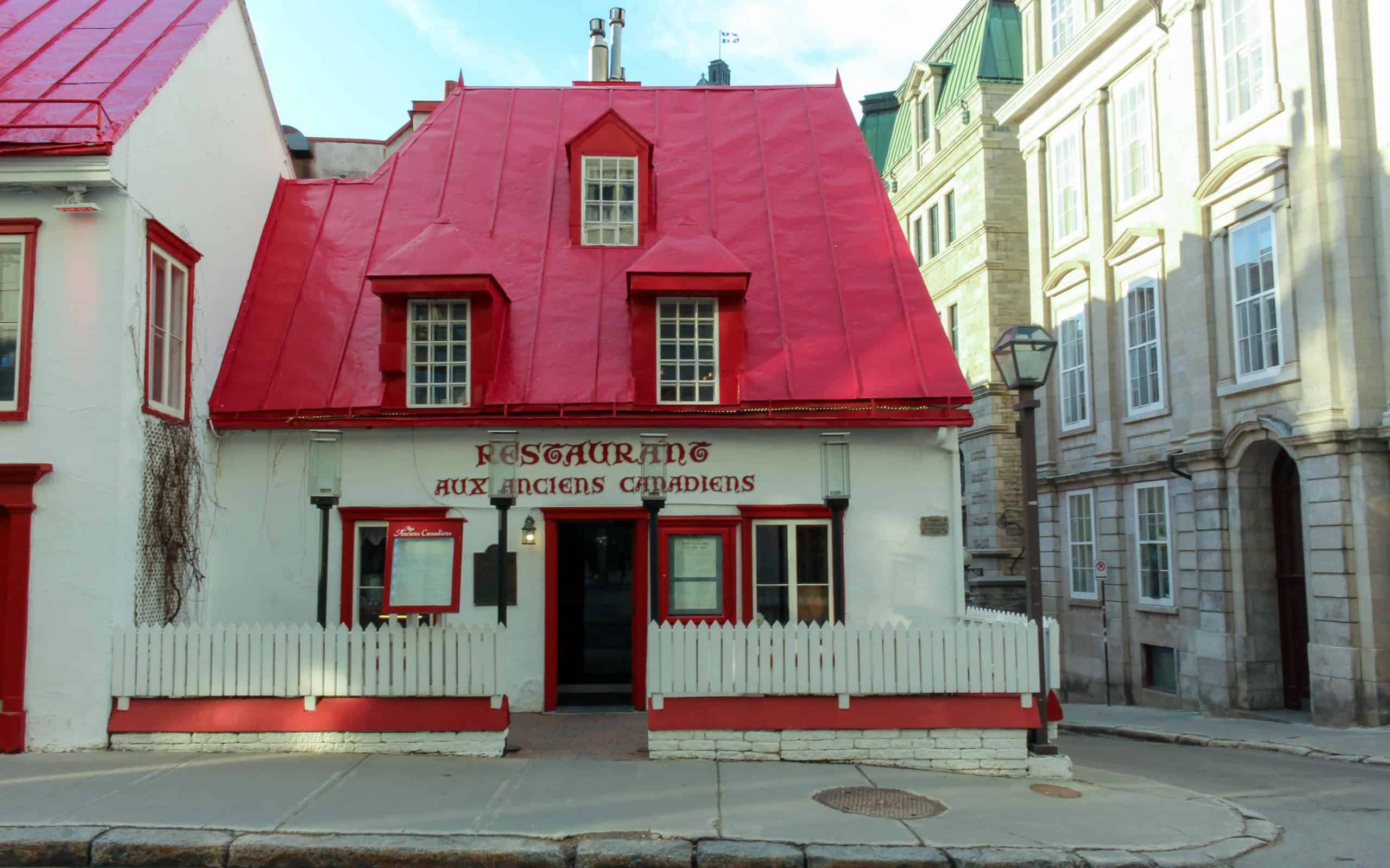 Aux Anciens Canadiens - History of quebec city
