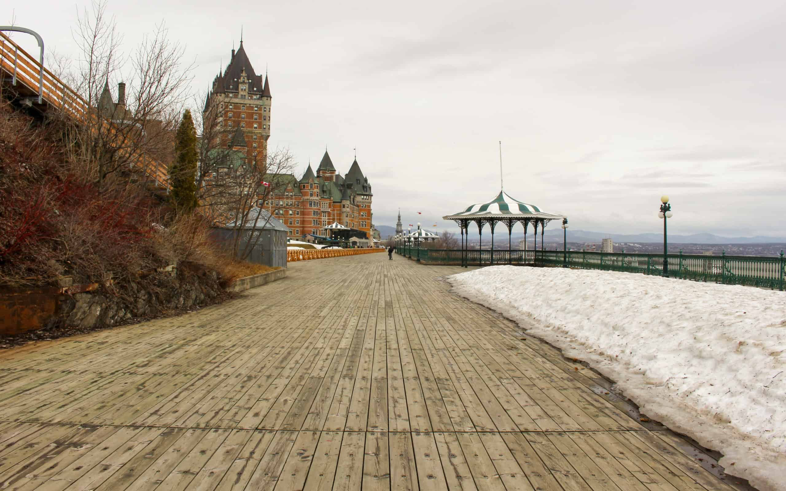 Dufferin Terrace - things to see in quebec city