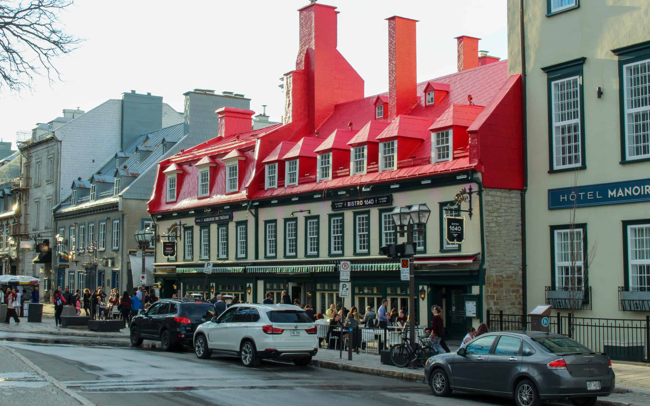 Rue du Tresor - what to see in quebec city