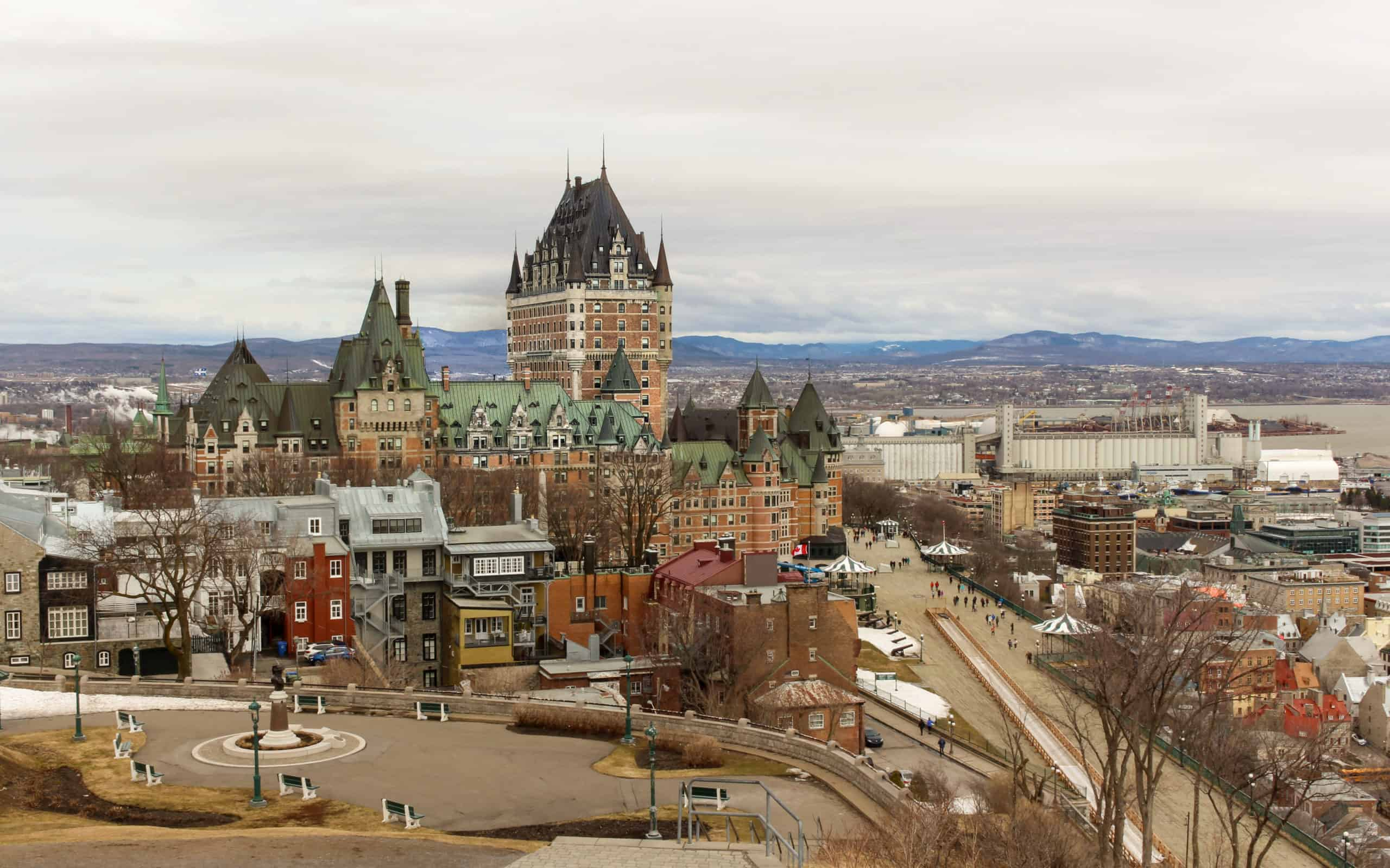 The Fairmont Chateau Frontenac - Quebec city attractions