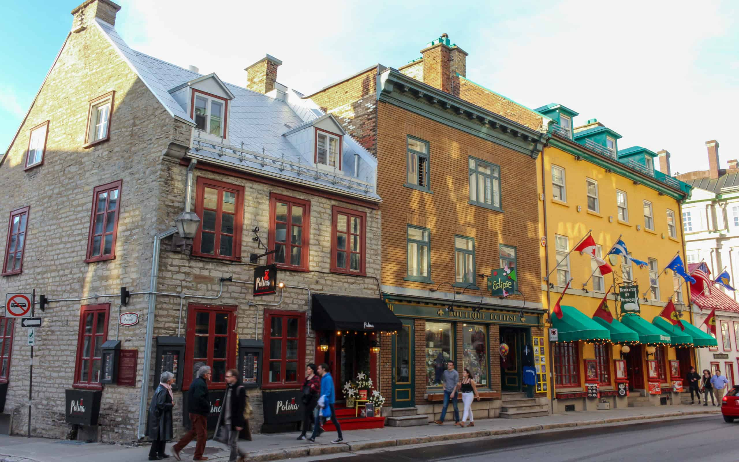 rue st louis - visit Quebec City
