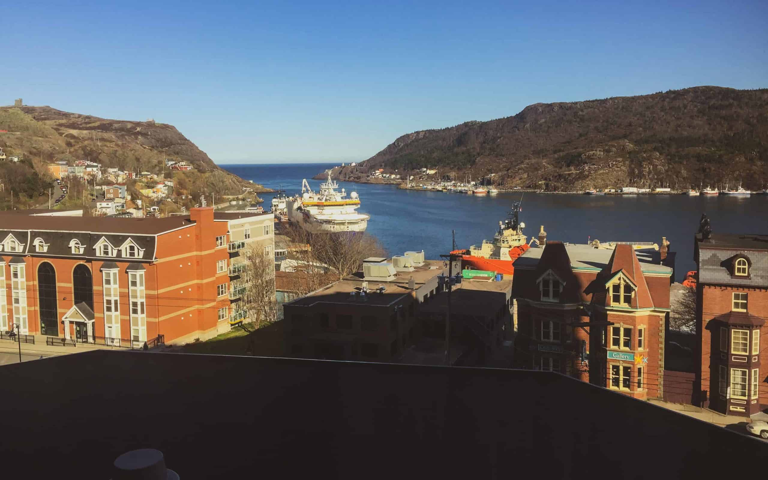 where to stay in st. John's Newfoundland