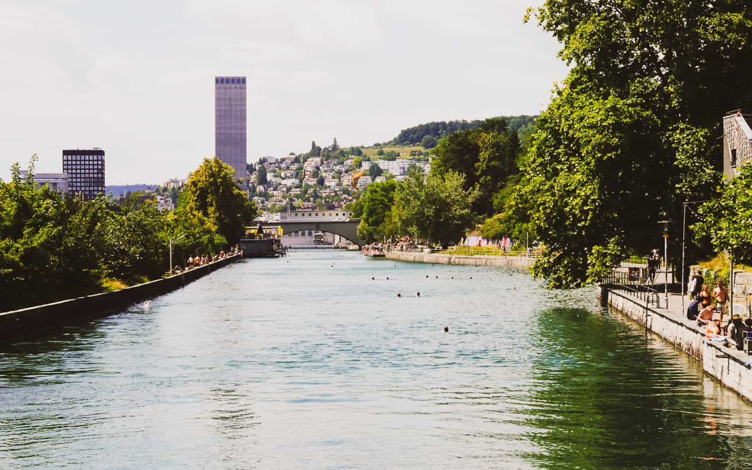 limmat river cruise