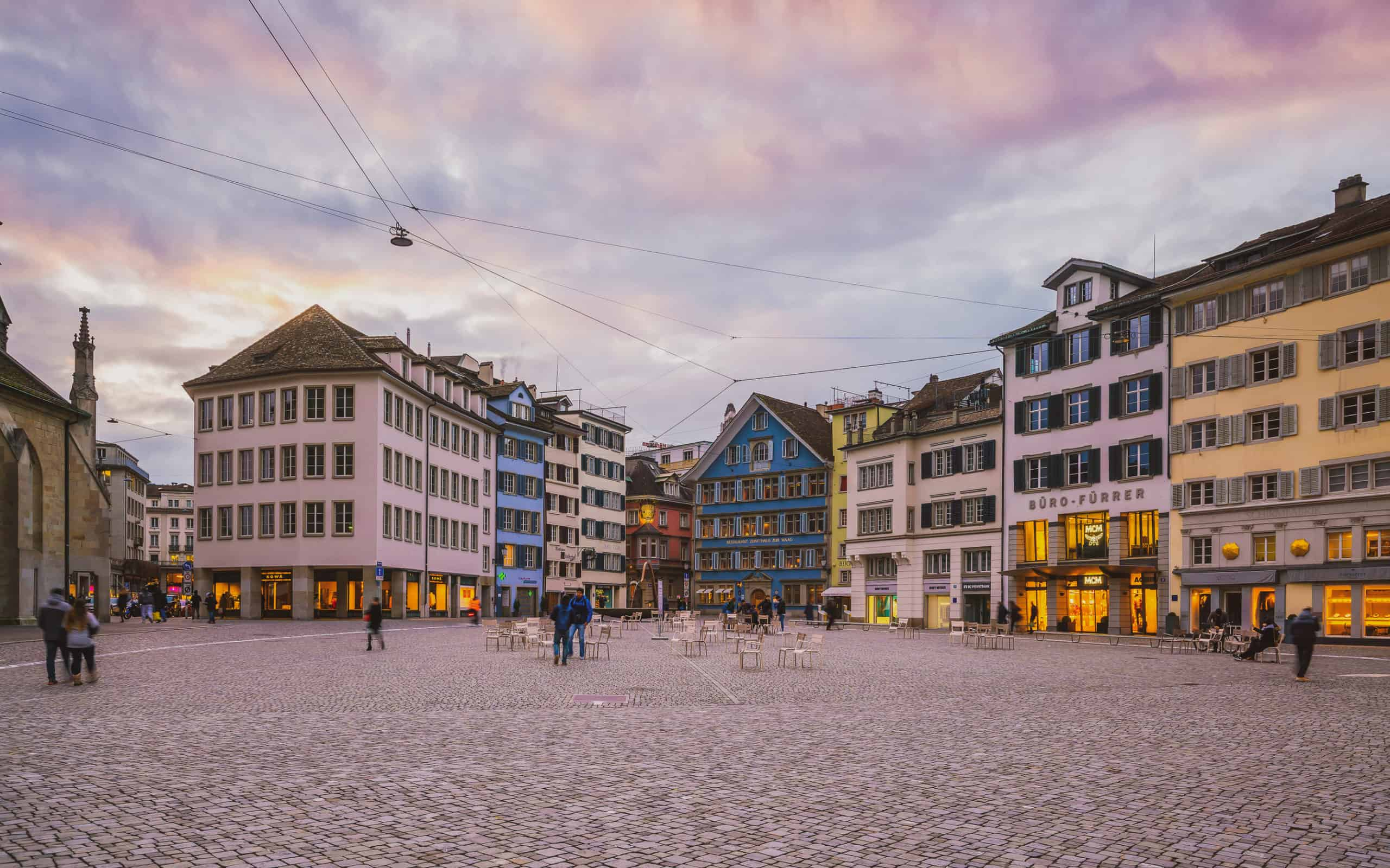 old town - zurich itinerary