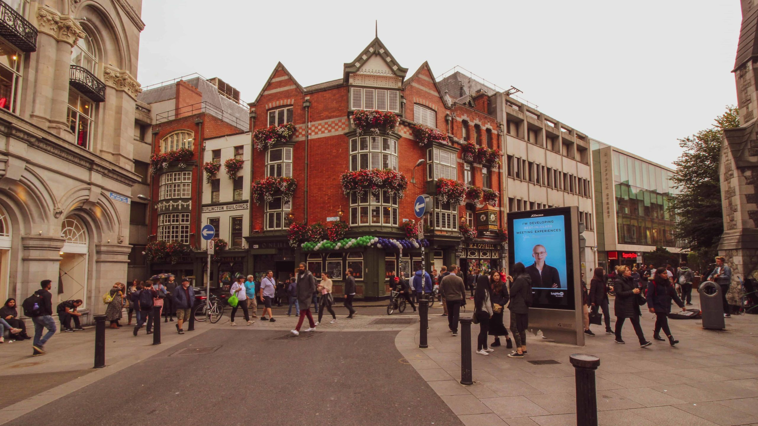 2 day dublin itinerary - grafton st