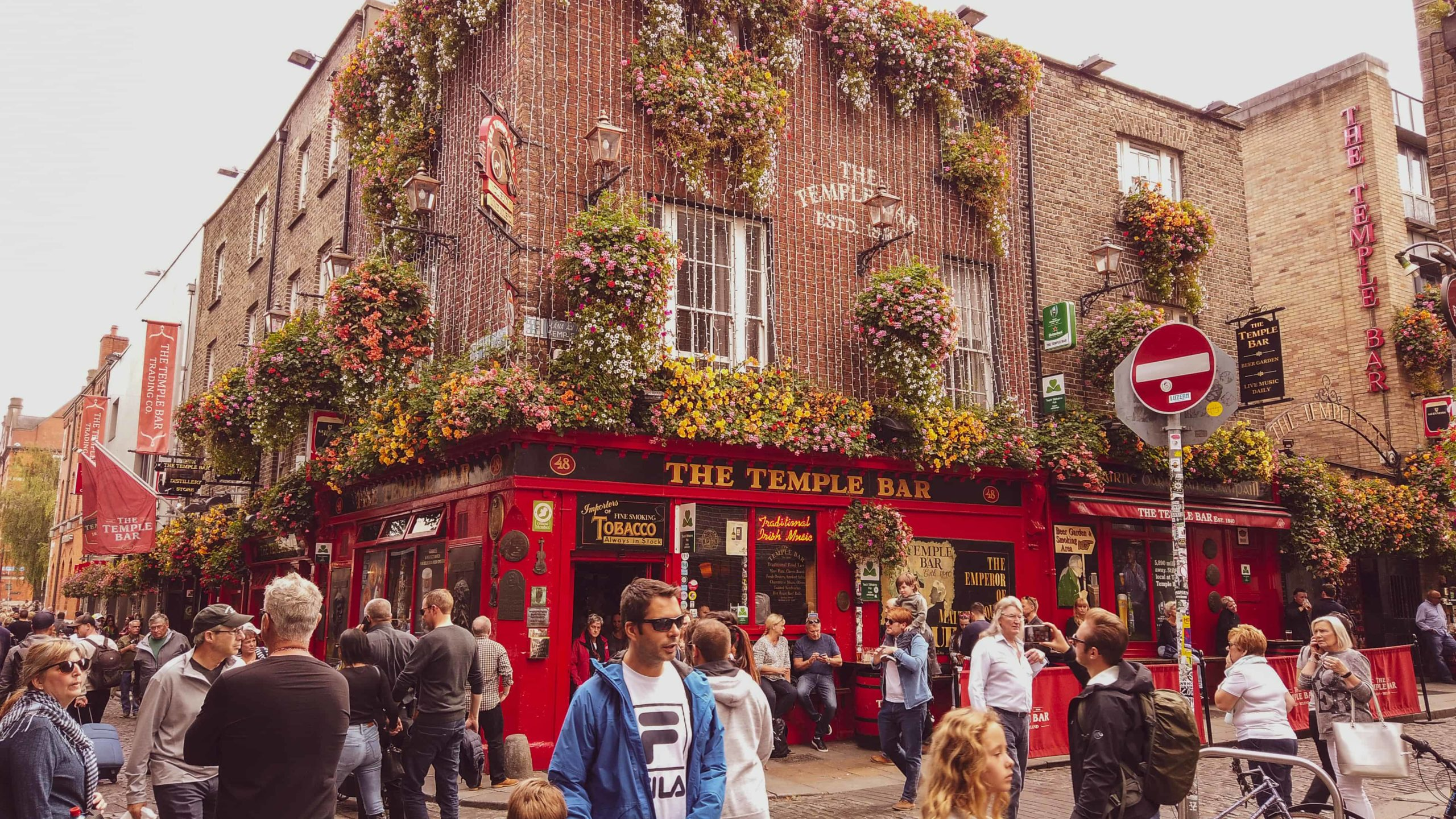 2 day dublin itinerary - temple bar