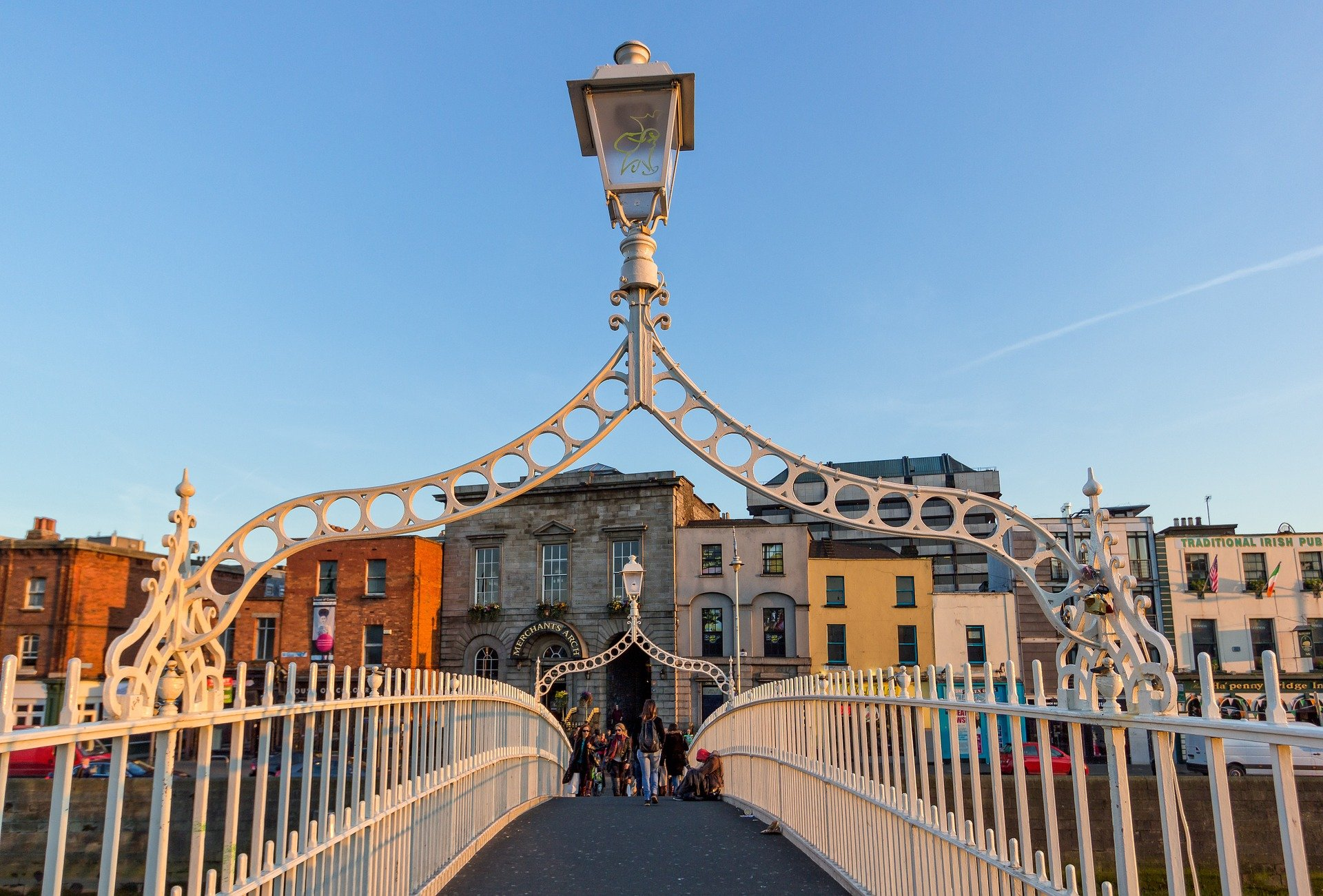 2 days in dublin - ha penny bridge