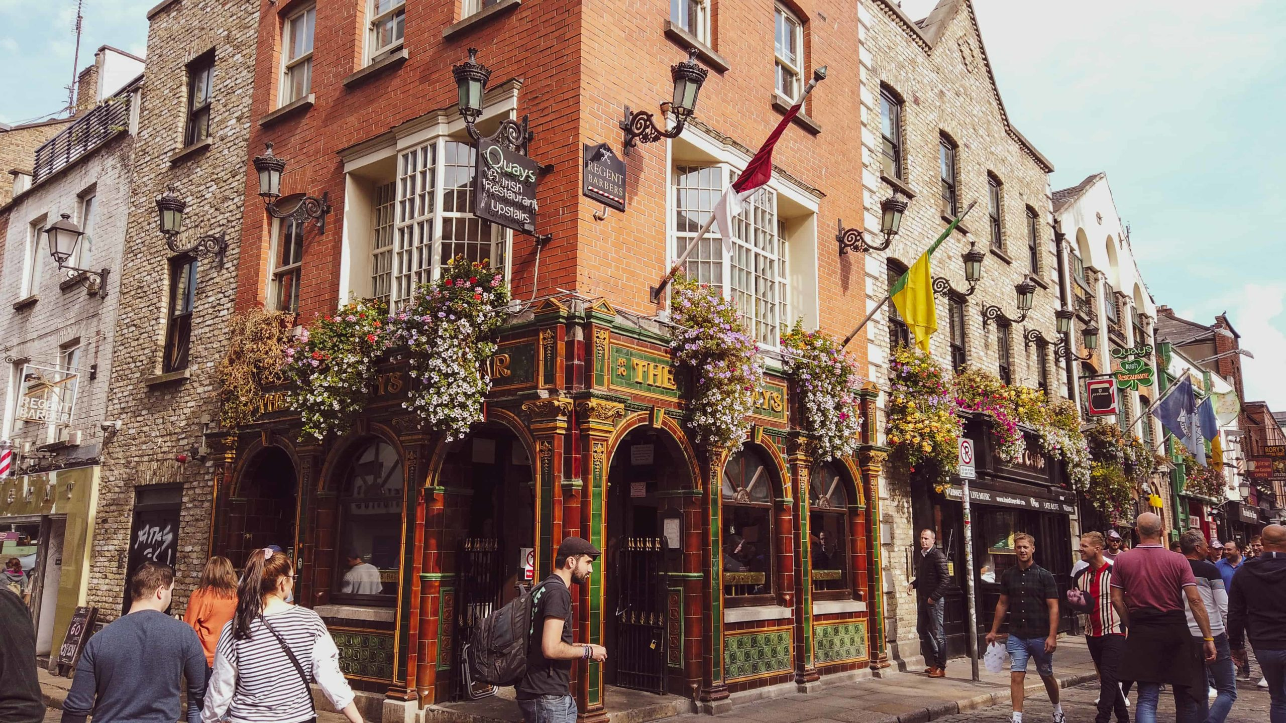 days in dublin - temple bar