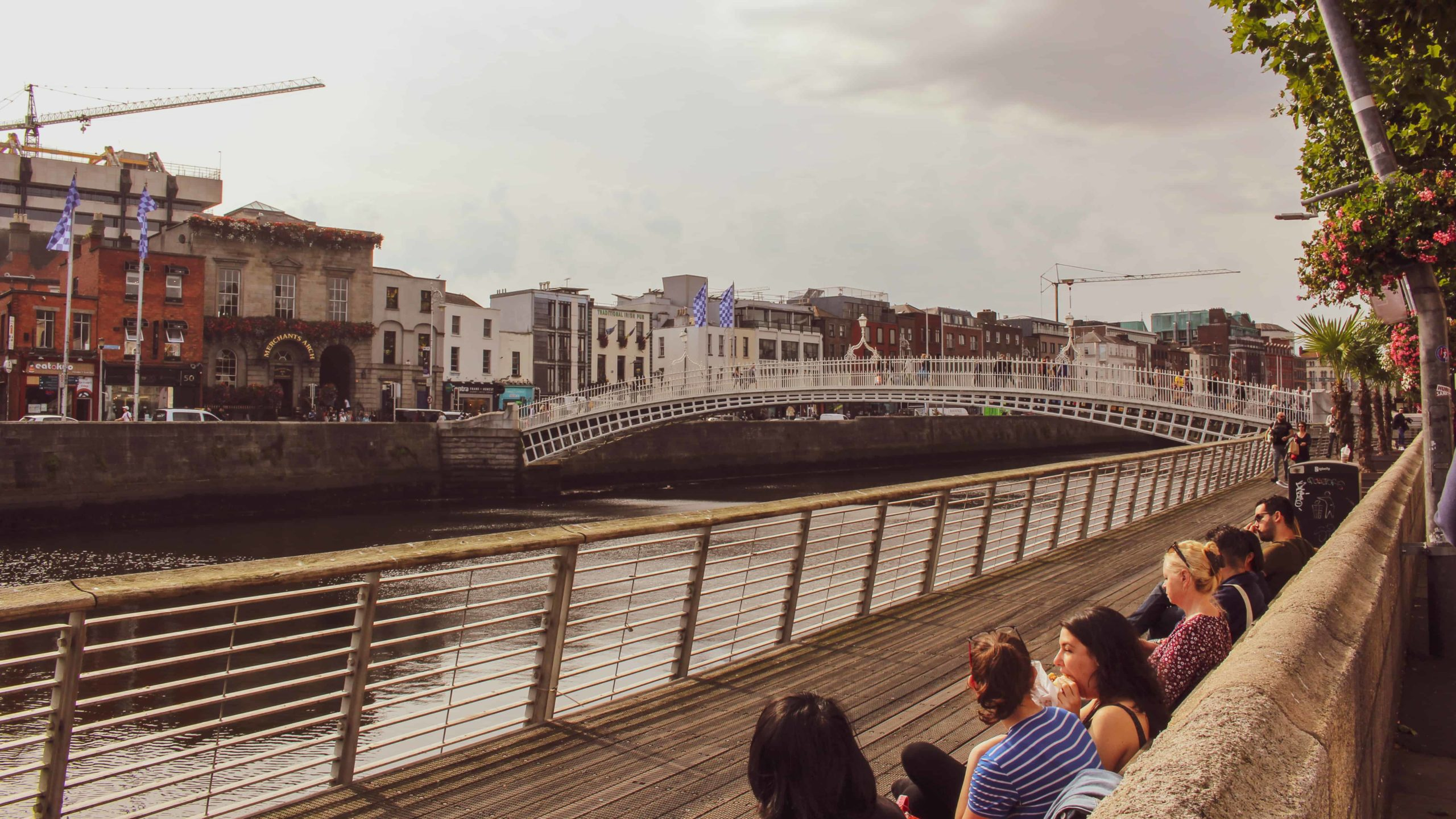 dublin itinerary - ha penny bridge