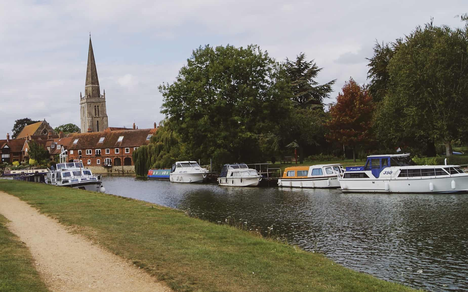 hiking near london - abingdon