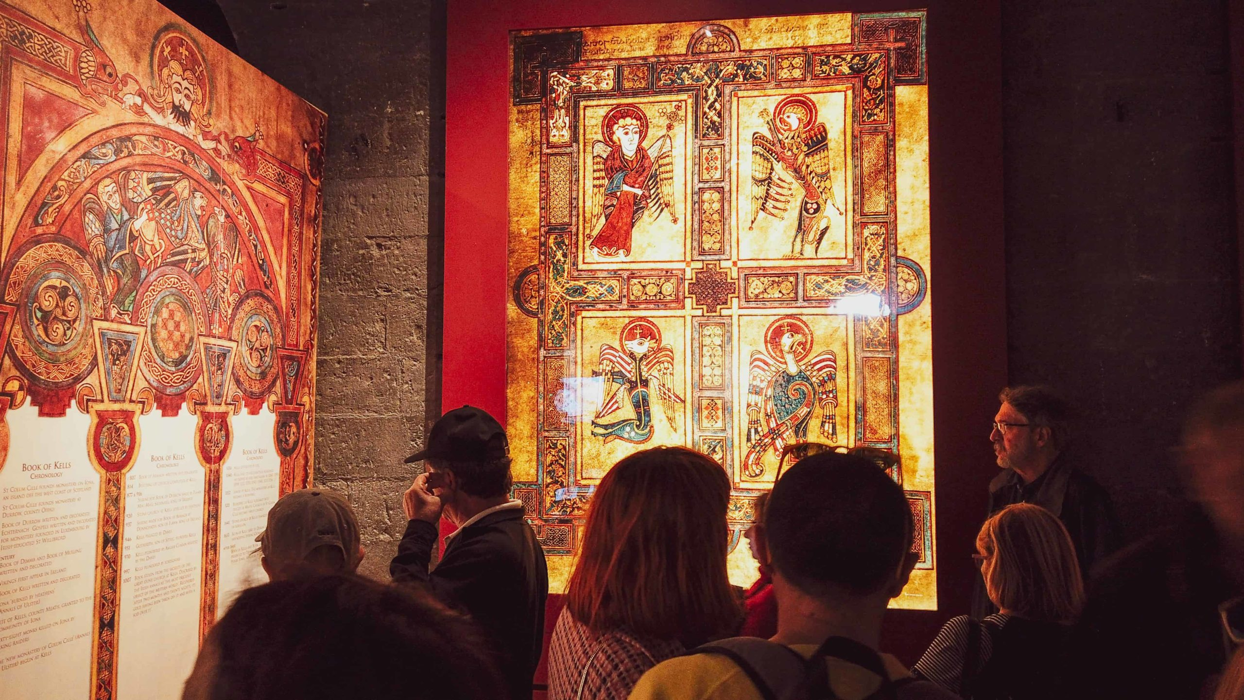 itinerary for dublin - book of kells