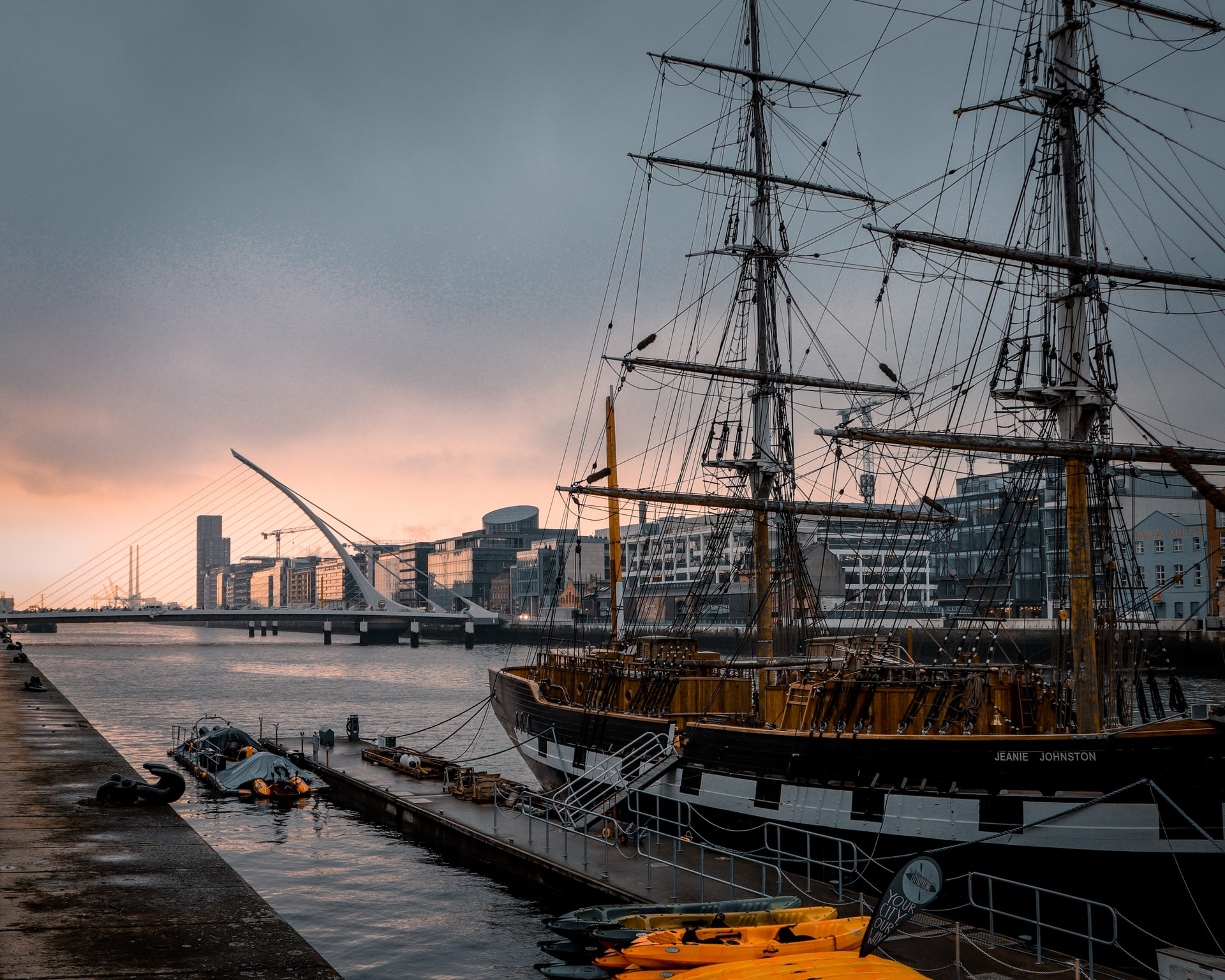dublin 2 day itinerary - JEANIE JOHNSTON TALL SHIP