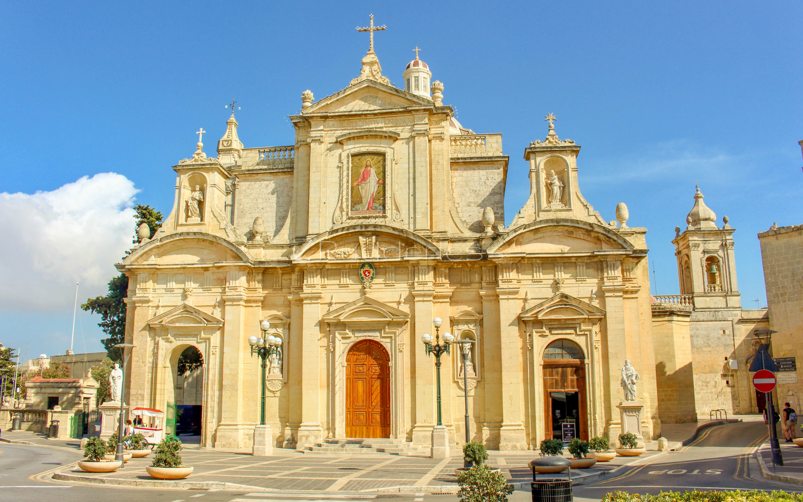 places to see in malta - St. Paul's