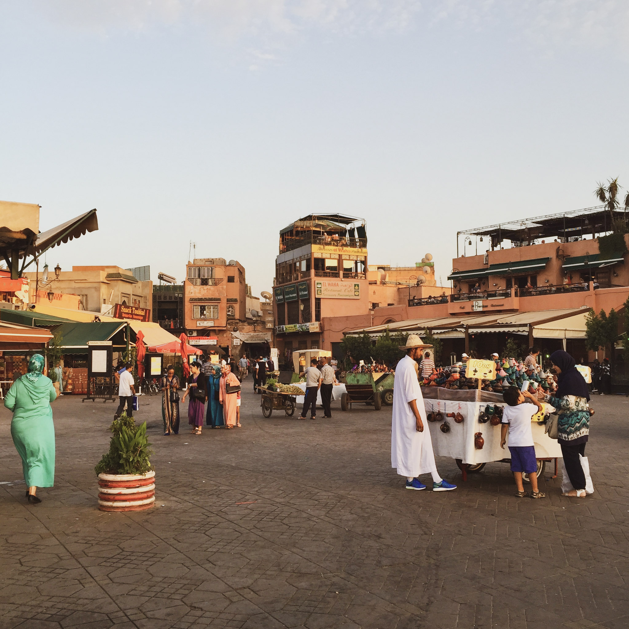 places to see in marrakech